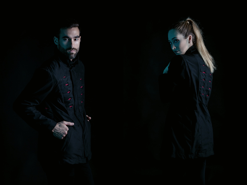 Omius presenta una chaqueta inteligente con movimiento propio