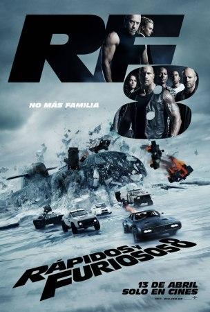 Rápidos y Furiosos 8 presenta su poster final