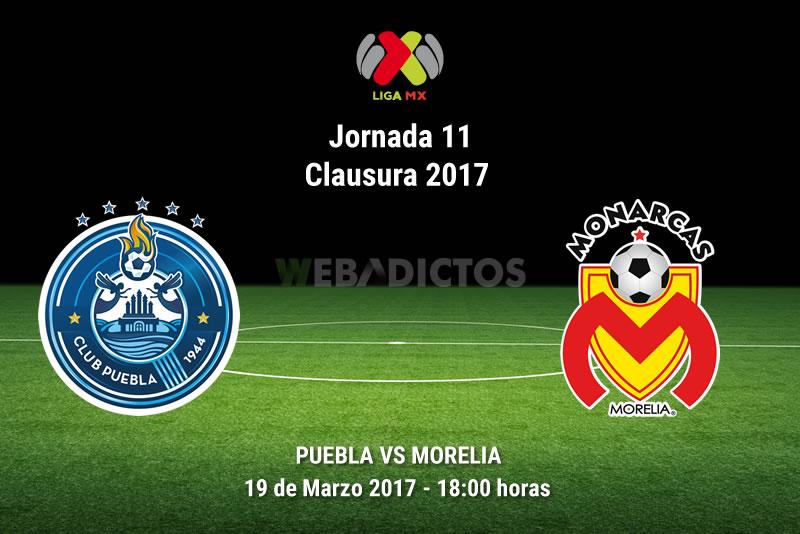 Puebla vs Morelia, Jornada 11 del Clausura 2017 | Resultado: 0-1 - puebla-vs-morelia-j11-clausura-2017