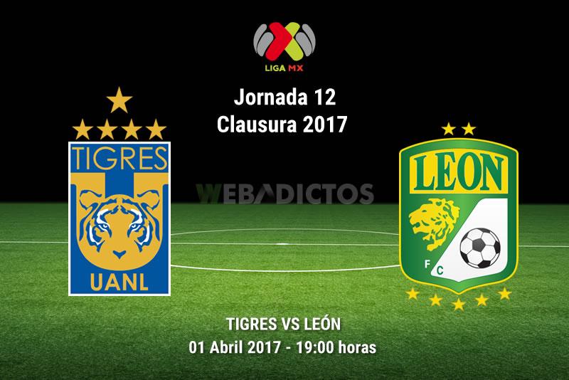 Tigres vs León, Jornada 12 del Clausura 2017 | Resultado: 0-1 - tigres-vs-leon-j12-clausura-2017
