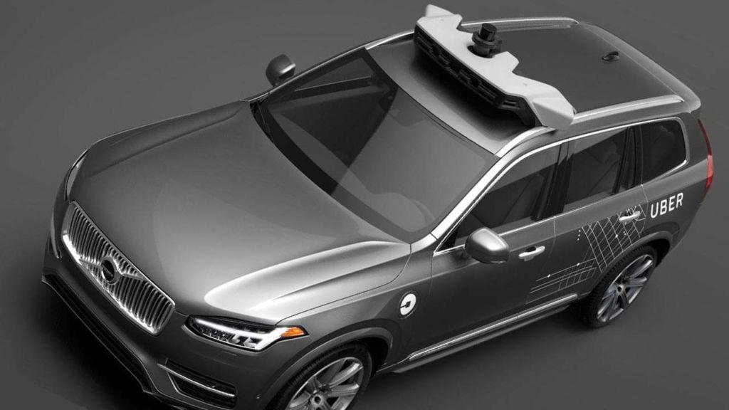 uber volvo roof Uber reinicia pruebas de coches autónomos