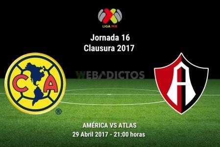 América vs Atlas, J16 de la Liga MX C2017 | Resultado: 1-2