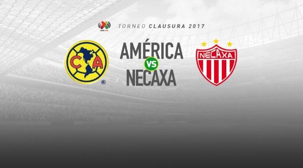 América vs Necaxa, Liga MX C2017 (Pendiente) | Resultado: 1-0 - america-vs-necaxa-j10-pendiente-clausura-2017-en-vivo