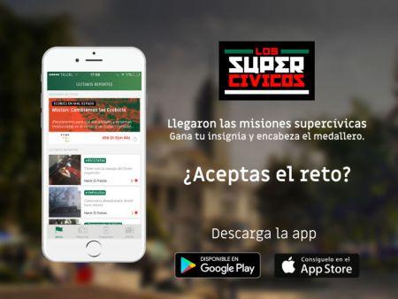 Llegaron las misiones a la app de los Supercívicos