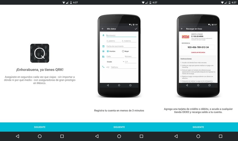 app qrk seguros accidentes QRK, contrata un seguro de accidente cuando viajes y ¡viaja tranquilo!