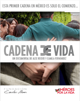 cadena de vida documental Estrenos de Claro Video del 15 al 30 de Abril 2017