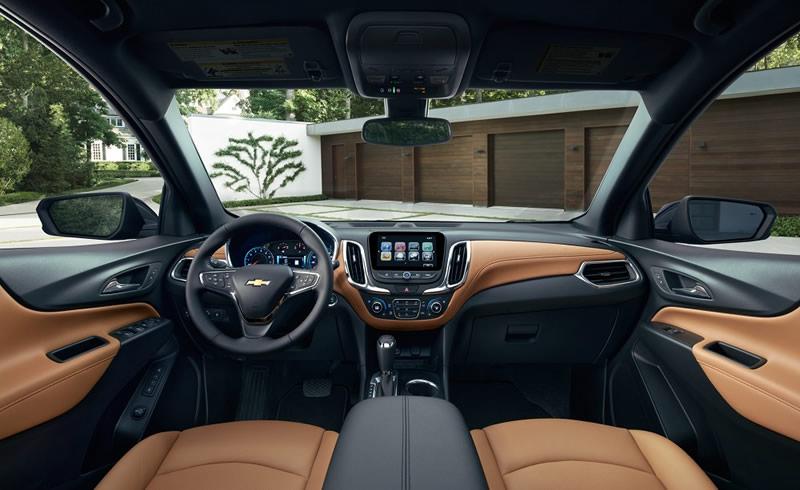 chevrolet equinox 2018 interior Chevrolet Equinox 2018 llegara a México a mediados de este año