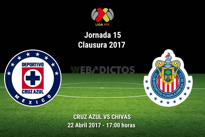 Cruz Azul vs Chivas, J15 Liga MX Clausura 2017 | Resultado: 2-1 - cruz-azul-vs-chivas-j15-clausura-2017
