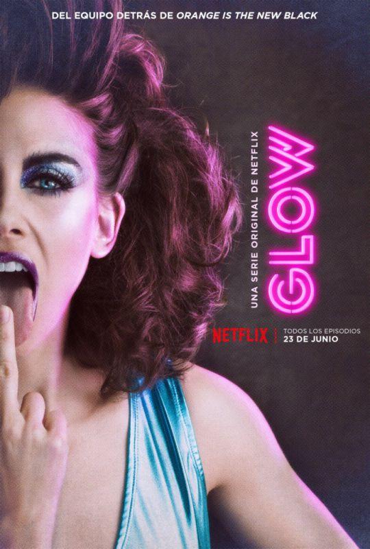 glow ruth las 540x800 Netflix revela el póster oficial y teaser de su próxima serie de comedia: GLOW