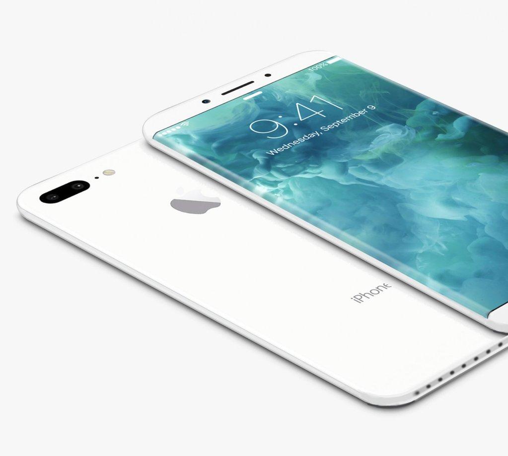iphone 8 concept white La presentación del nuevo iPhone sería retrasada
