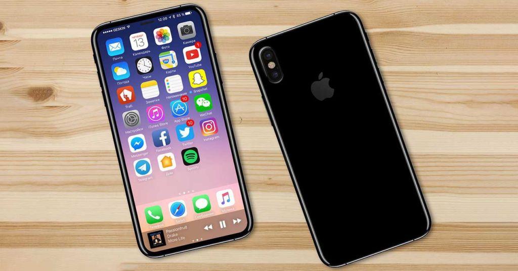 iphone 8 render Producción en masa del iPhone 8 se retrasaría hasta octubre o noviembre