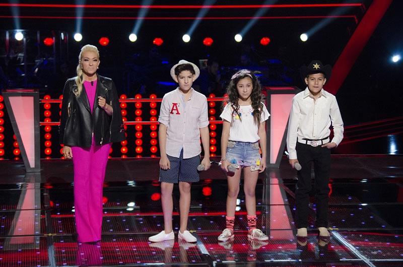 Ganadores de la segunda batalla de La Voz Kids México 2017 - la-voz-kids-mexico-2017-4-batalla-saul-agustin-slendy