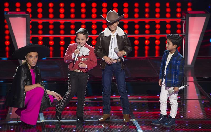 la voz kids mexico 2017 6 ponchito alejandro santiago ervey Primeros vencedores de Las Batallas en La Voz Kids México 2017