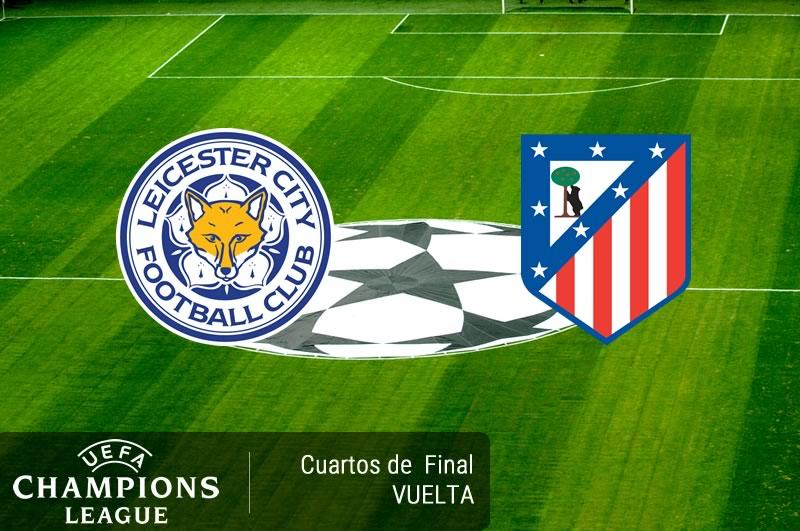 leicester vs atletico madrid cuartos champions 2017 Leicester vs Atlético Madrid, Champions 2017 | Resultado: 1 1