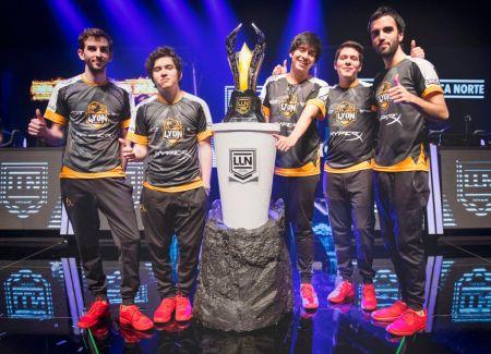 Lyon Gaming conquista su octava Final de la Liga Latinoamérica Norte 2017