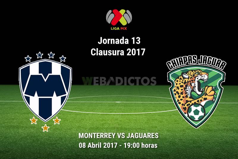 Monterrey vs Jaguares, Jornada 13 Clausura 2017 | Resultado: 4-1 - monterrey-vs-jaguares-j13-clausura-2017