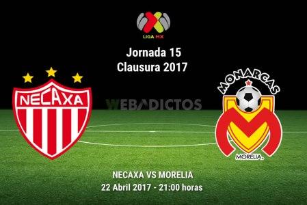 Necaxa vs Morelia, Jornada 15 Clausura 2017 | Resultado: 2-1