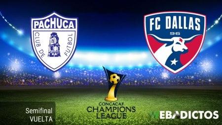 Pachuca vs Dallas, Semifinal Concachampions 2017   Resultado: 3-1