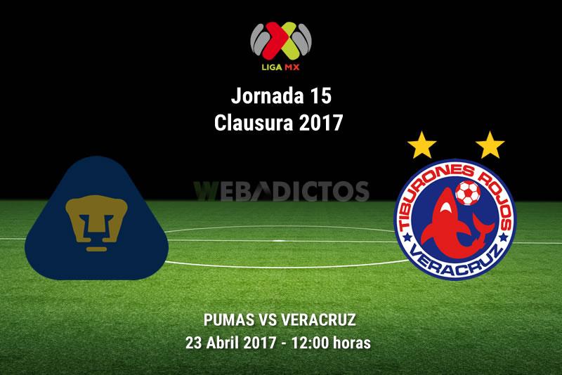 Pumas vs Veracruz, Jornada 15 Clausura 2017  | Resultado: 0-2 - pumas-vs-veracruz-j15-clausura-2017