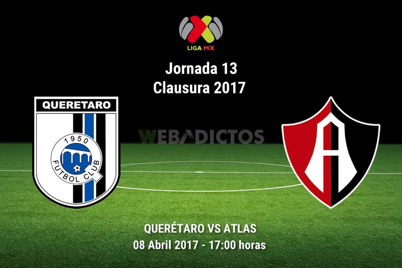 Querétaro vs Atlas, Fecha 13 del Clausura 2017 | Resultado: 1-4 - queretaro-vs-atlas-j13-clausura-2017