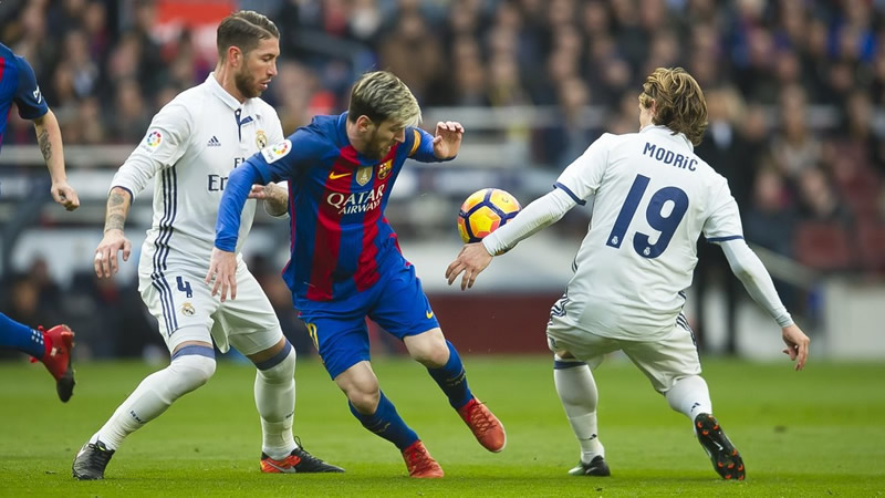 real madrid vs barcelona 2017 clasico Real Madrid vs Barcelona 2017, Fecha 33 de La Liga | Resultado: 2 3