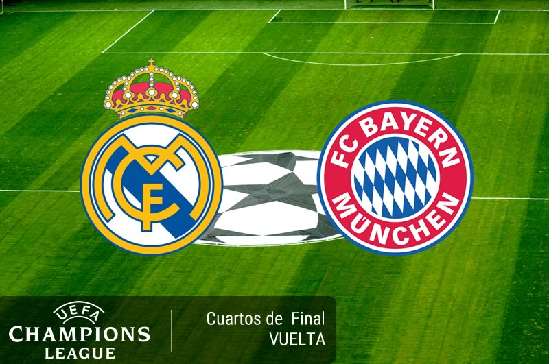 real madrid vs bayern munich cuartos champions 2017 Real Madrid vs Bayern Munich, Champions 2017 ¡En vivo por internet! | Vuelta