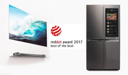 LG es galardonado con los premios «Best of the Best» en los Red Dot Awards