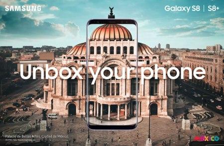 Samsung Galaxy S8 fue presentado en México