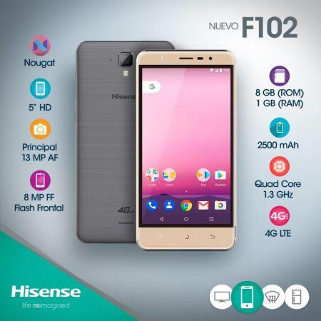 Hisense lanza el Smartphone F102, con flash frontal para selfies increíbles - smartphone-f102-450x450
