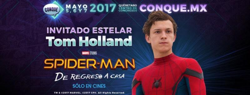 Spider-Man presente en CONQUE 2017, evento de cómics y entretenimiento de México - spider-man_1-800x304