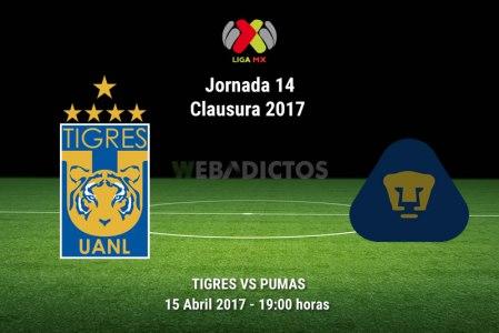 Tigres vs Pumas, Jornada 14 Clausura 2017 | Resultado: 4-0