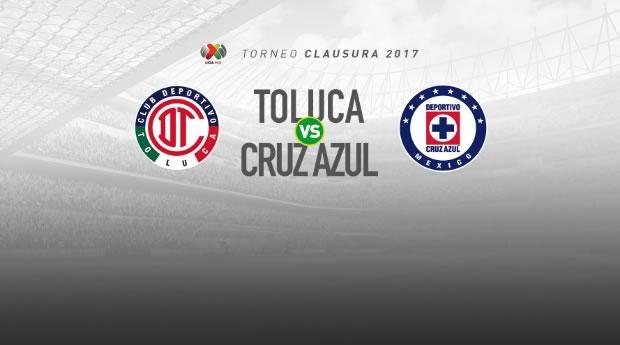 Toluca vs Cruz Azul, Jornada 10 Clausura 2017   Resultado: 0-2 - toluca-vs-cruz-azul-j10-c2017-en-vivo