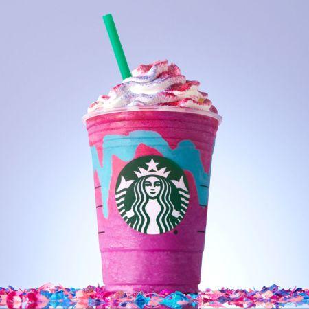 Starbucks lanza nueva bebida: Unicorn Frappuccino