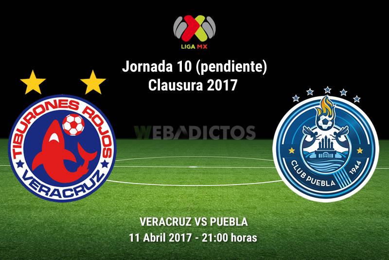 Veracruz vs Puebla, Jornada 10 C2017 (Pendiente)   Resultado: 3-2 - veracruz-vs-puebla-j10-clausura-2017