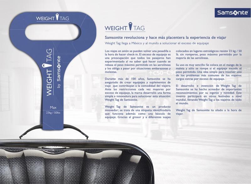 Weight Tag llega a México a solucionar el exceso de equipaje - weight-tag-comunicado-1-800x586
