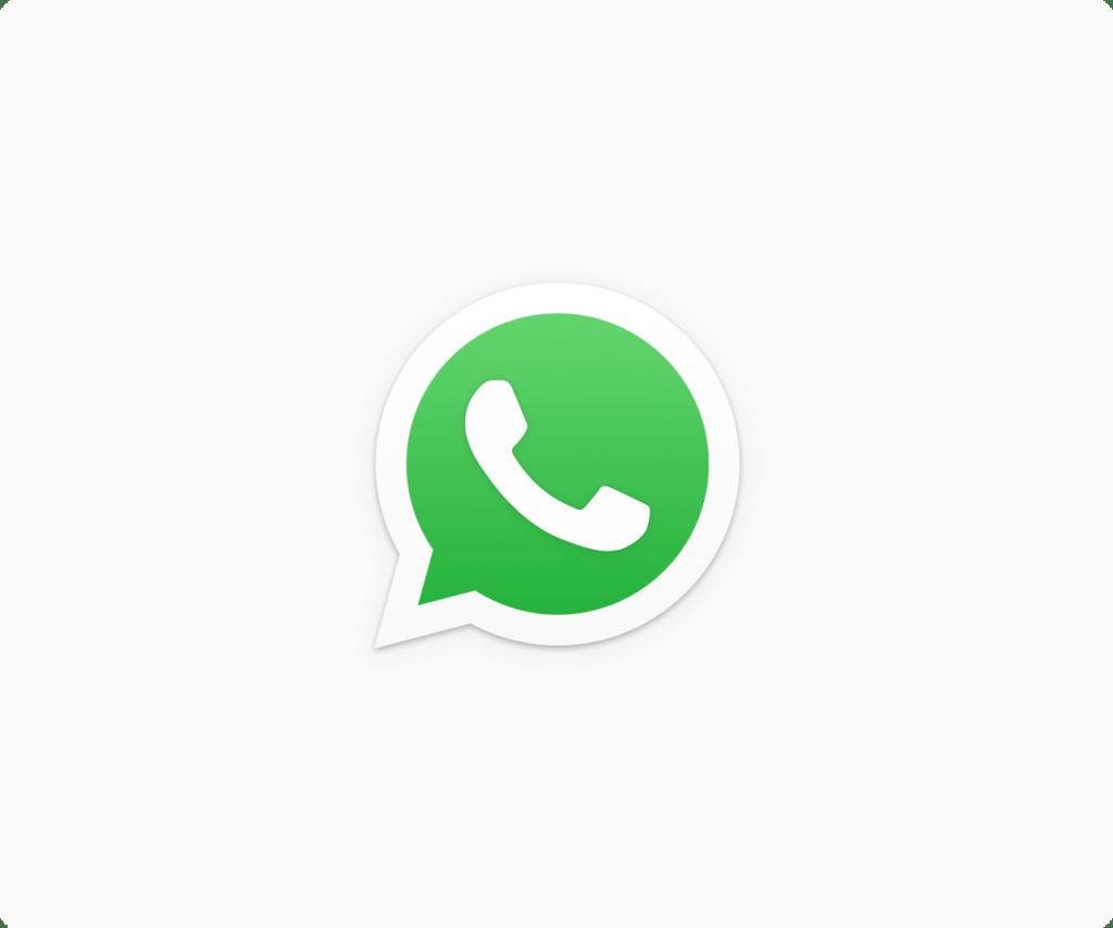 whatsapp logo white bg WhatsApp trabaja en ofrecer el servicio de pagos móviles