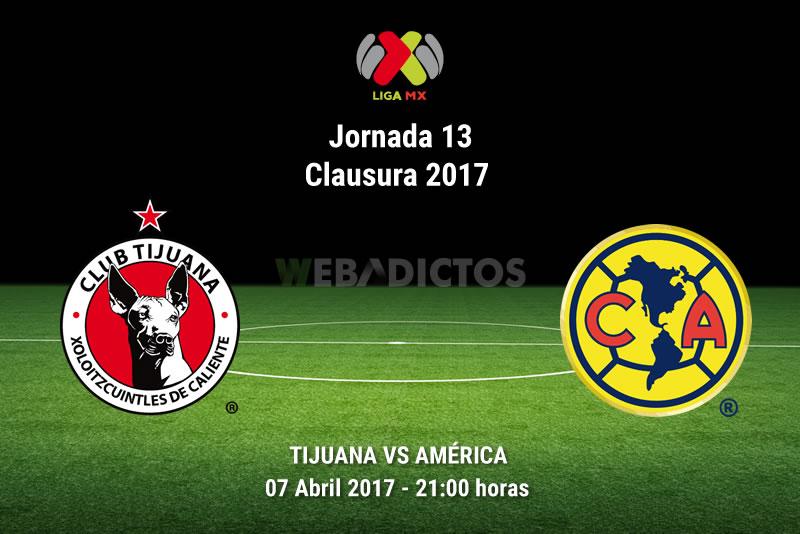 Tijuana vs América, Jornada 13 del Clausura 2017   Resultado: 0-0 - xolos-tijuana-vs-america-j13-clausura-2017