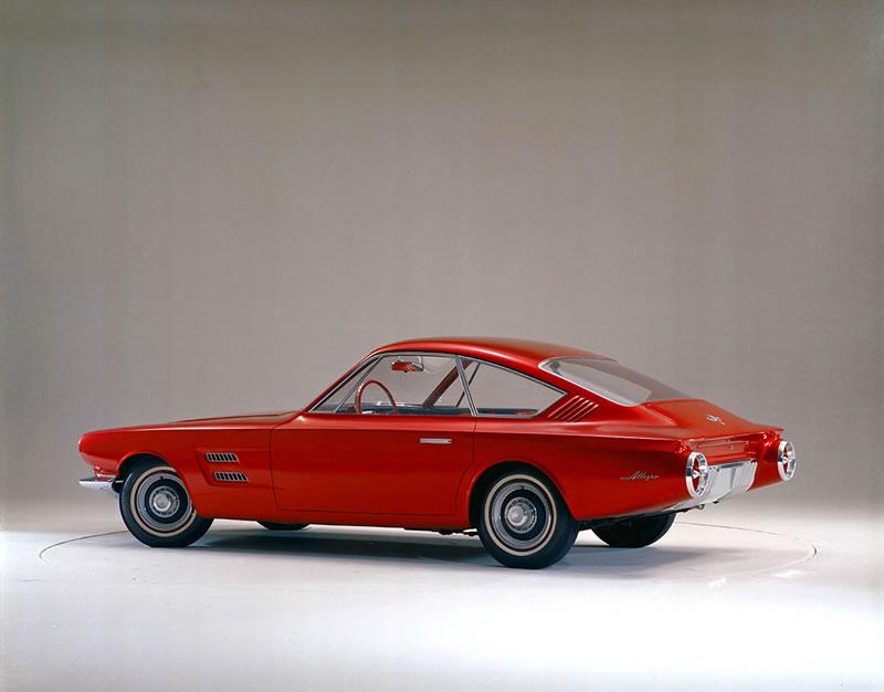 Los 10 modelos de Mustang que nunca se materializaron - 1-mustang-prototipo-1961