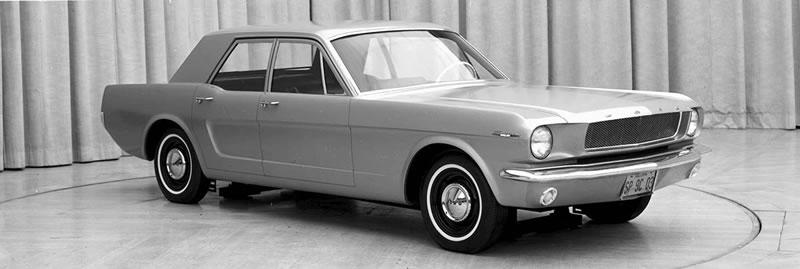 Los 10 modelos de Mustang que nunca se materializaron - 5-mustang-prototipo-4portas-1965