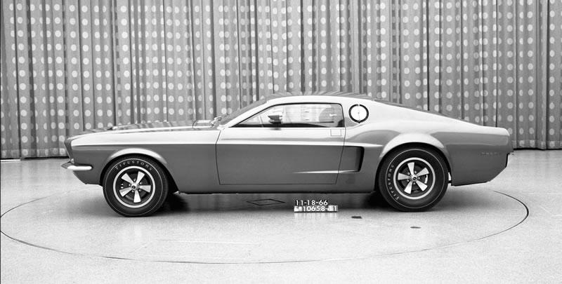 Los 10 modelos de Mustang que nunca se materializaron - 7-mustang-mach-i-concept-1966