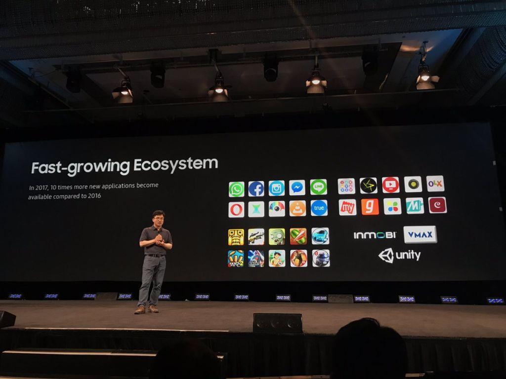 apps counter Samsung tiene planes de expandir Tizen a todo el mundo