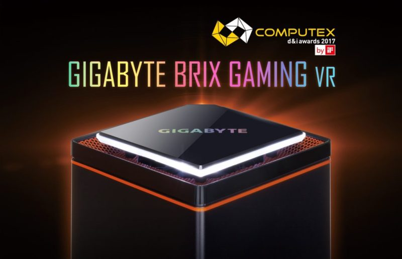 BRIX Gaming VR: nuevo integrante de la familia Gigabyte - brix-gaming-vr-800x516
