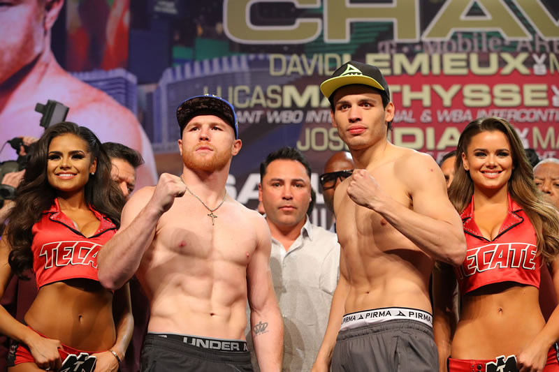 Exhibe Canelo a Chavez Jr en 12 rounds