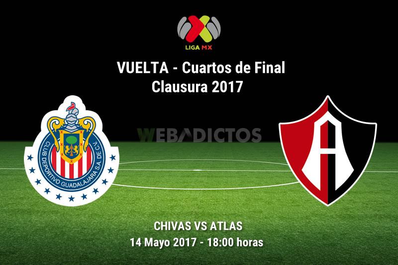 Chivas vs Atlas, Liguilla del Clausura 2017 | Resultado: 1-0 - chivas-vs-atlas-liguilla-clausura-2017