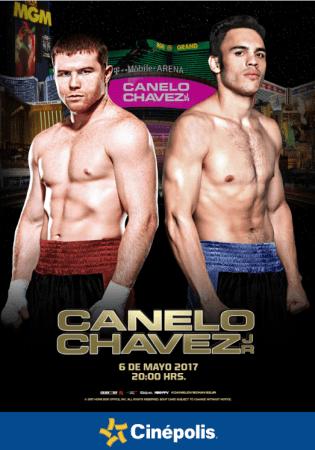 Ve la pelea Canelo vs Chávez Jr en el cine con Cinépolis