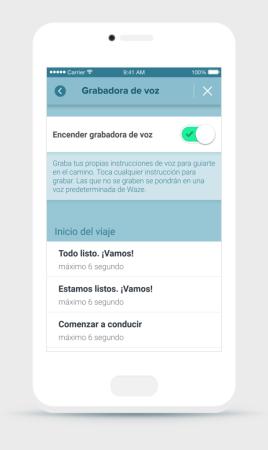 Waze ahora te permite grabar tus propios comandos de voz - comando-de-voz-waze_2