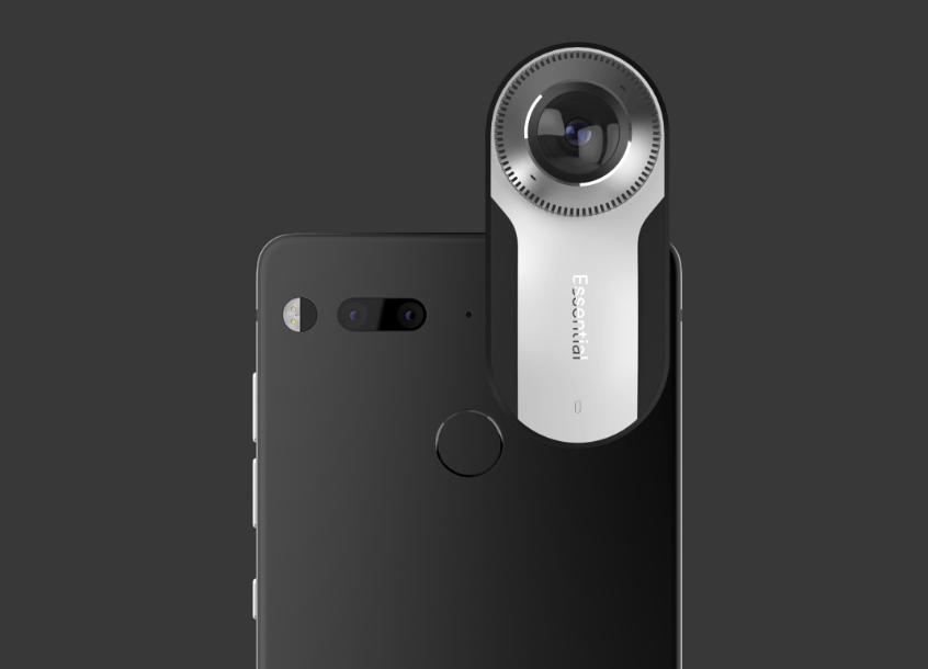 ep 360 cam Essential Phone: el creador de Android anuncia su propio smartphone