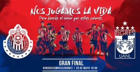 Final Chivas vs Tigres por Chivas TV a precio especial ¡Aprovéchalo!