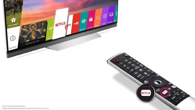 En la compra de una TV LG 4K de regalo 3 meses de Netflix - lg-2017-4k-uhd-tv-with-netflix-hot-key-remote-800x453
