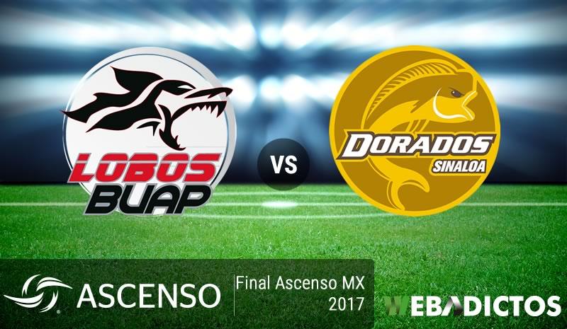 Lobos BUAP vs Dorados, Final del Ascenso MX 2017 ¡En vivo por internet!   ida - lobos-buap-vs-dorados-final-ascenso-mx-2017
